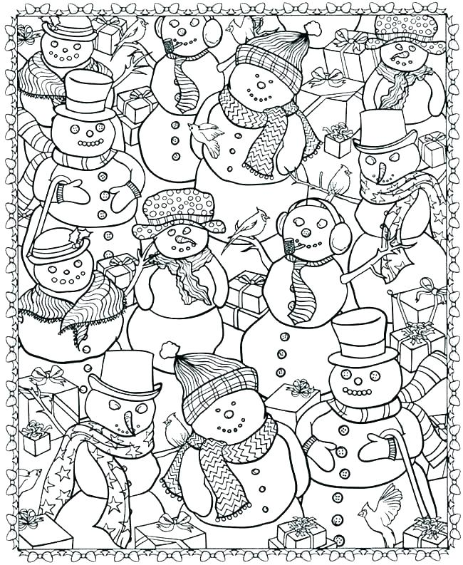 photo regarding Free Printable Winter Coloring Pages named Free of charge Printable Wintertime Coloring Webpages For Youngsters