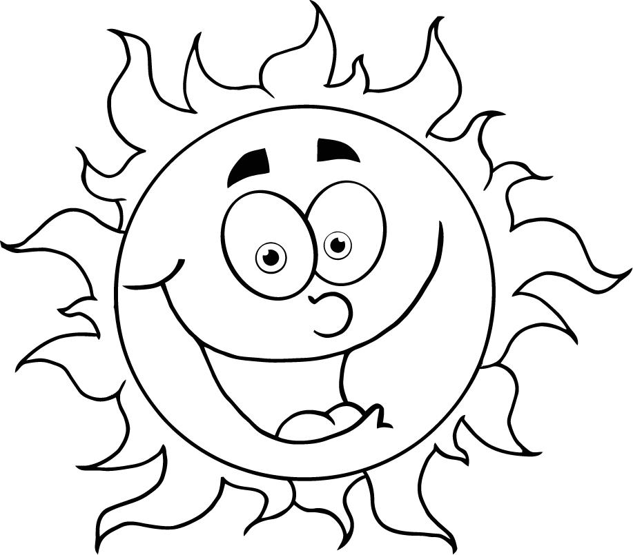 Sun Solar System Coloring Pages