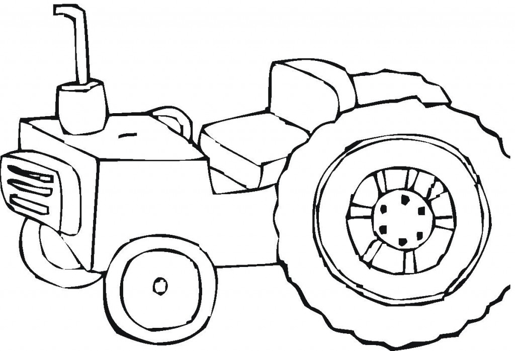 Tractor Coloring Pages Pictures