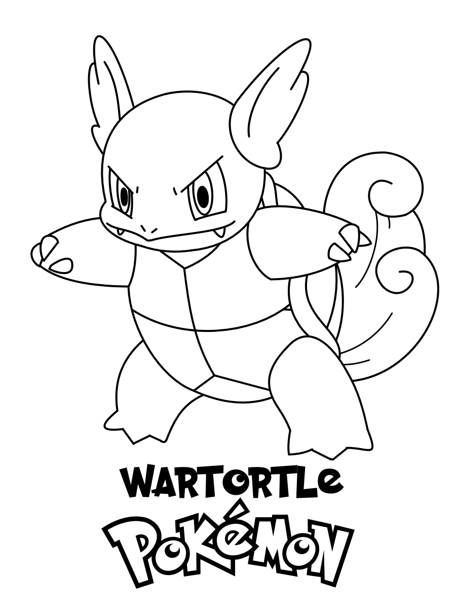pokemon free coloring pages | Pokemon Coloring Pages. Join your favorite Pokemon on an ...