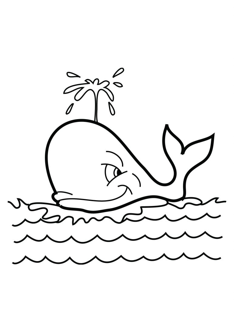 Free printable whale coloring pages for kids for Free coloring book pages to print