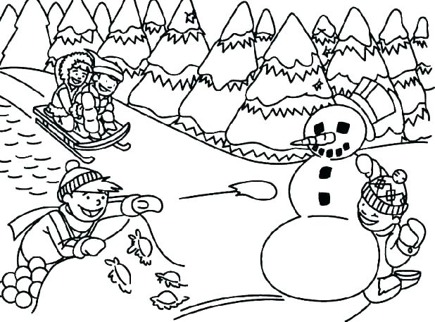 image about Printable Winter Colouring Pages identify Free of charge Printable Winter season Coloring Web pages For Small children