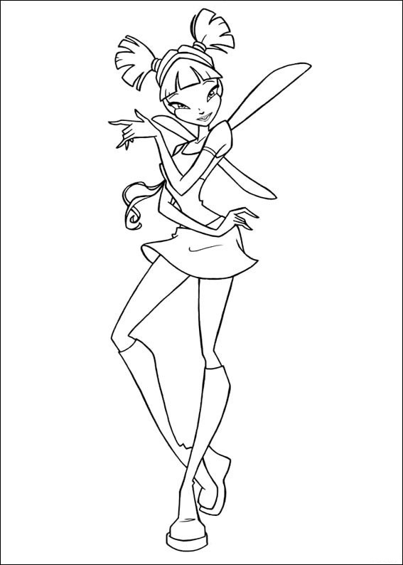Winx Club Coloring Pages To Print