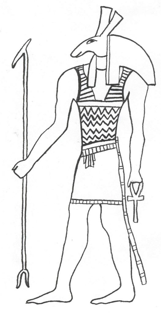 Ancient Egypt Coloring Pages Pictures