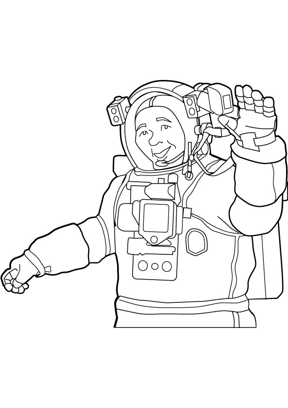 Astronaut Coloring Pages Printable