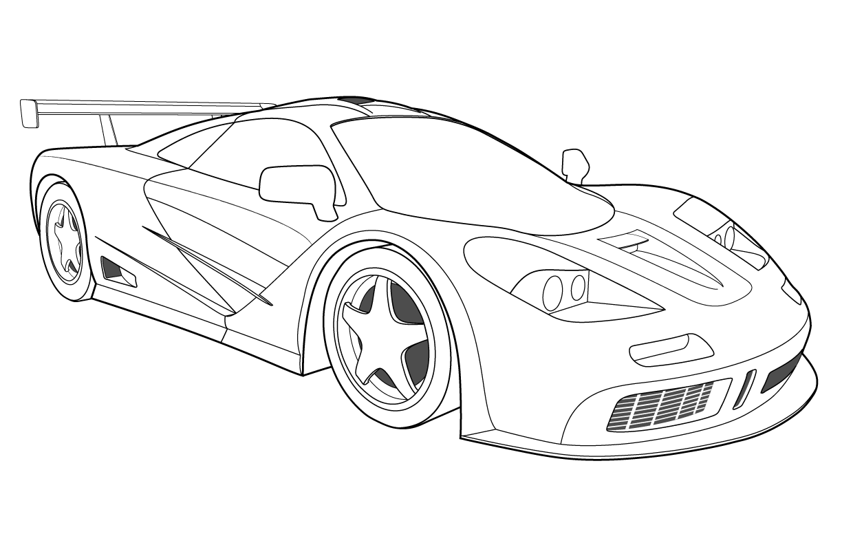 bugatti coloring pages Free Printable Bugatti Coloring Pages For Kids bugatti coloring pages