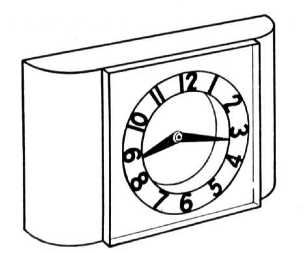 Free Printable Clock Coloring Pages For Kids