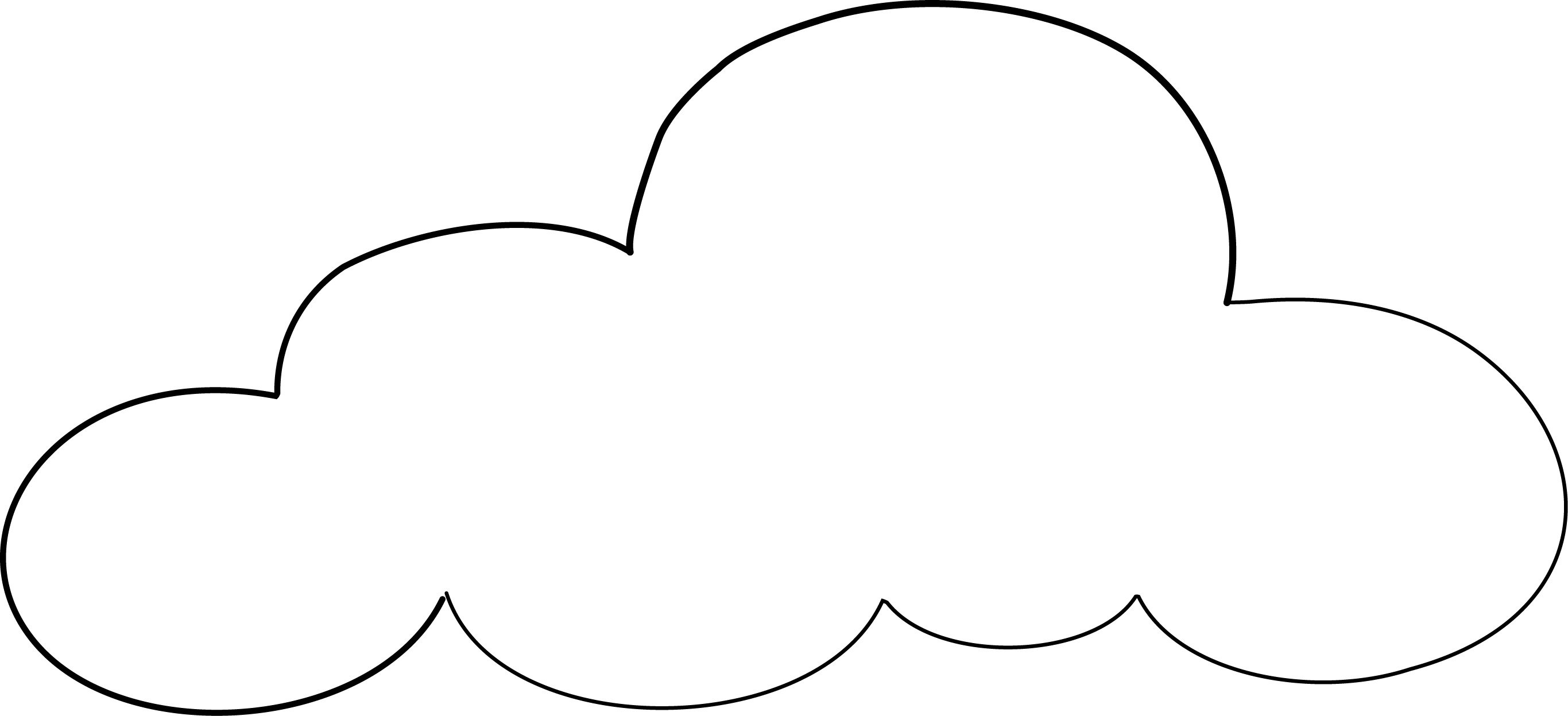 photo relating to Printable Clouds named Free of charge Printable Cloud Coloring Webpages For Young children