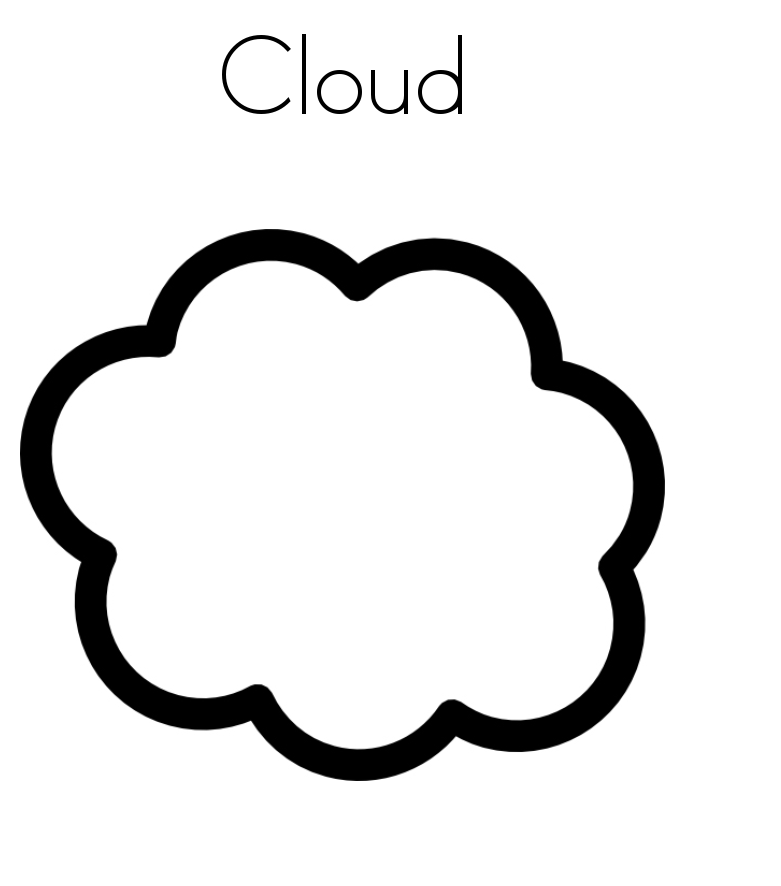 picture regarding Printable Clouds known as Cost-free Printable Cloud Coloring Web pages For Little ones