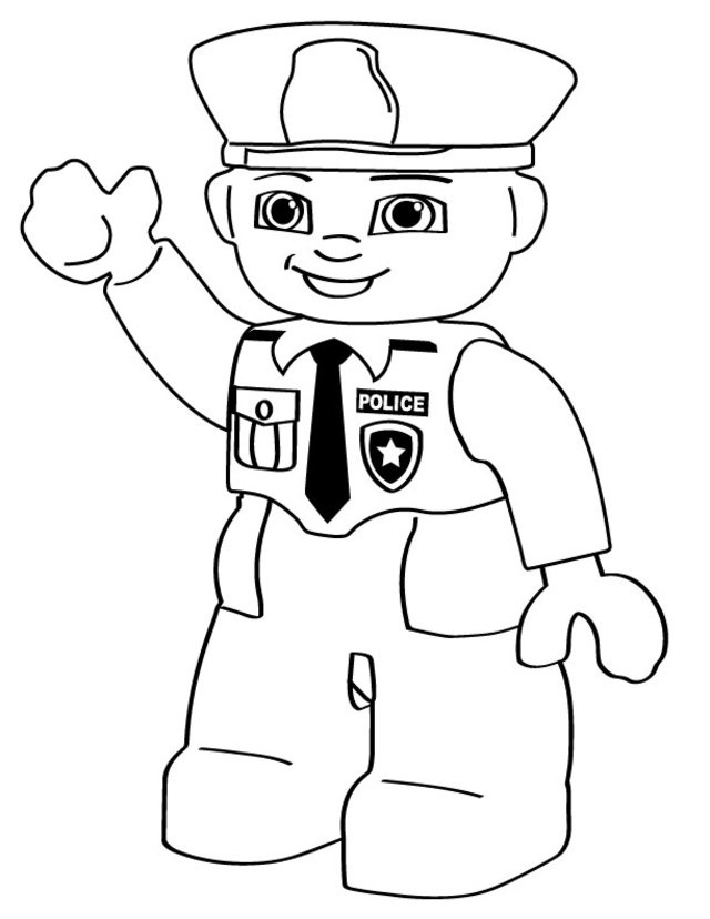 Community Helpers Coloring Pages For Kids