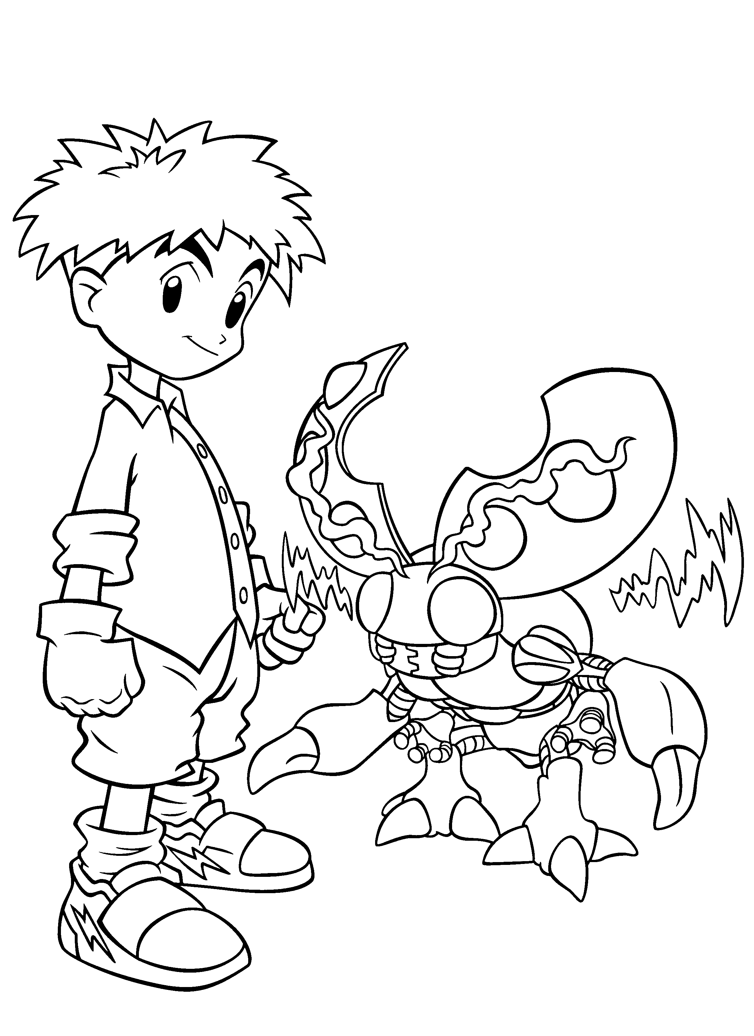 free coloring pages of children - photo#8