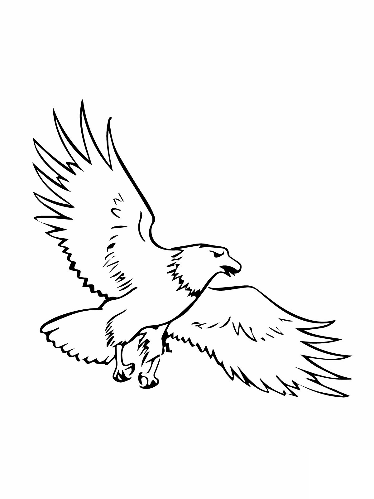 Free Printable Bald Eagle Coloring Pages For Kids - photo#20