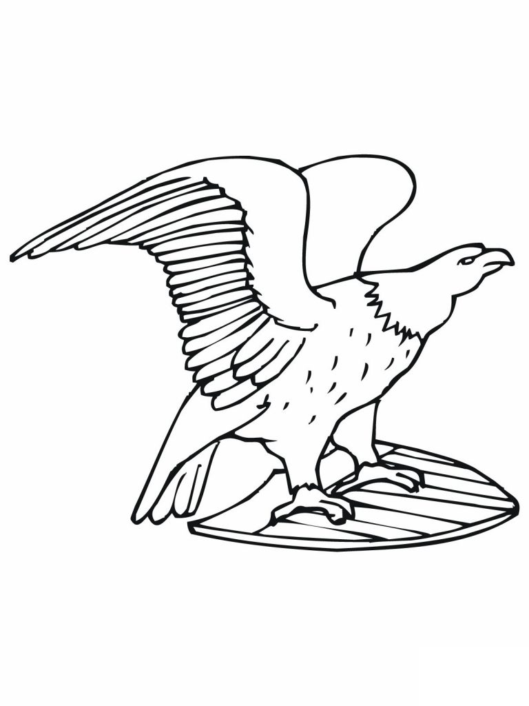 Free Printable Bald Eagle Coloring