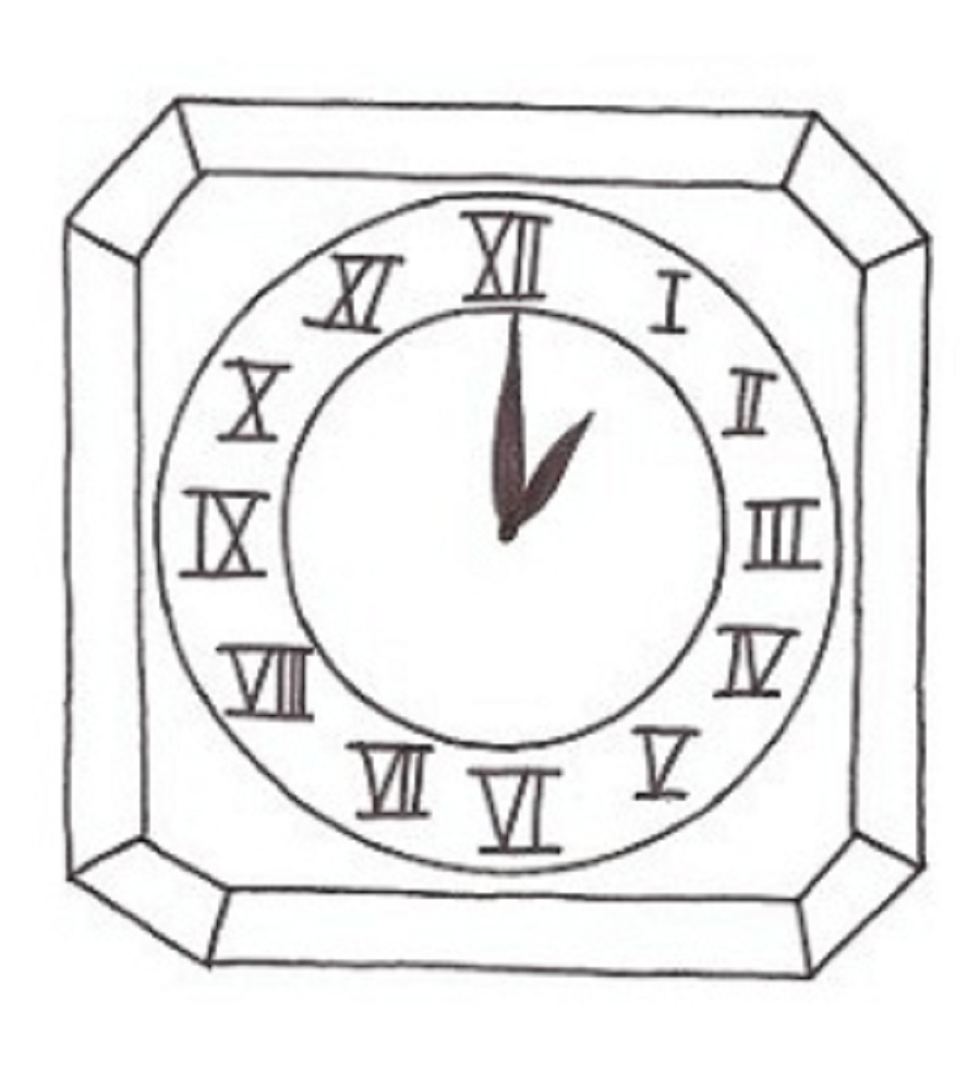 Free Cloring Pages Pictures Of Clock