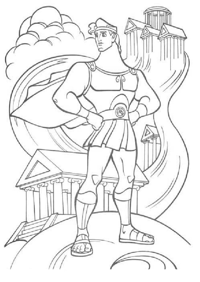 pinterest free coloring pages - free printable hercules coloring pages for kids