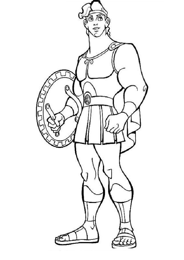 Free Hercules Coloring Pages