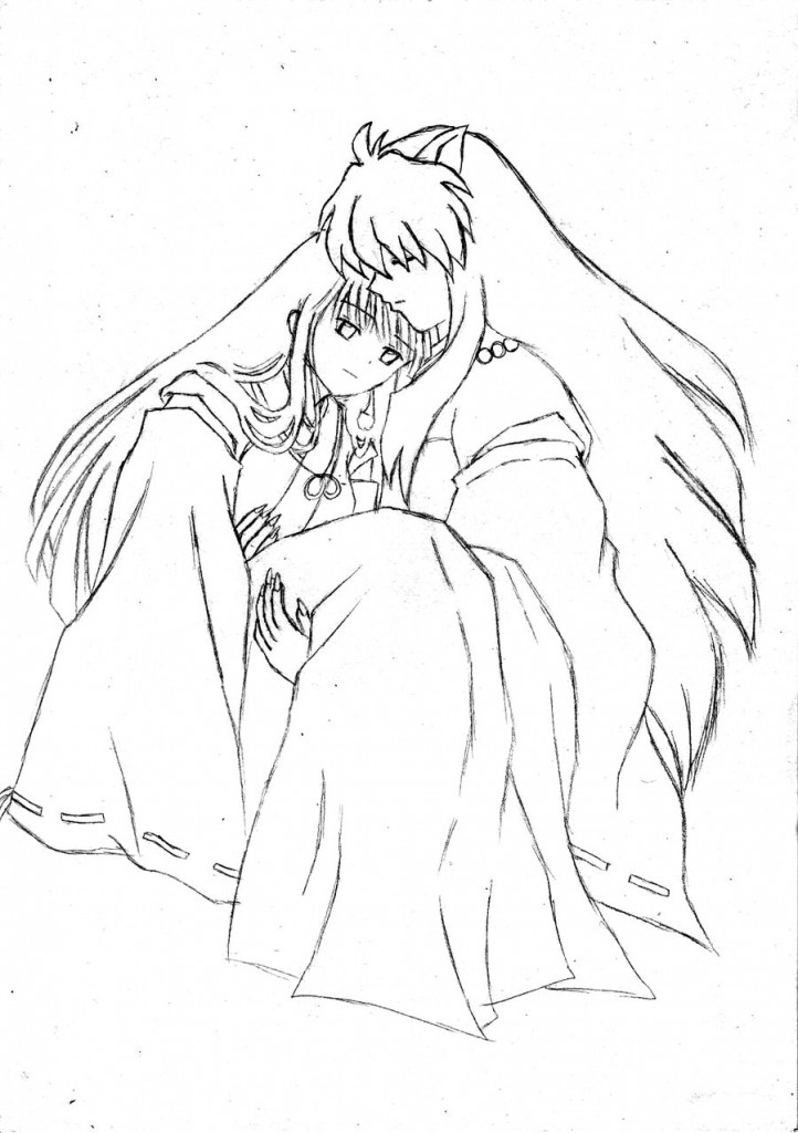 Free Inuyasha Coloring Pages