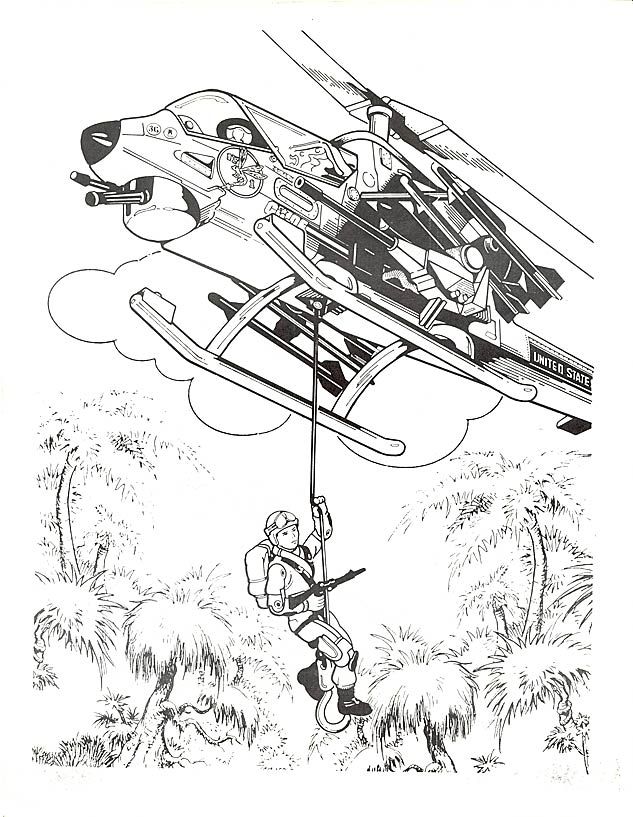 gi joe coloring pages for kids