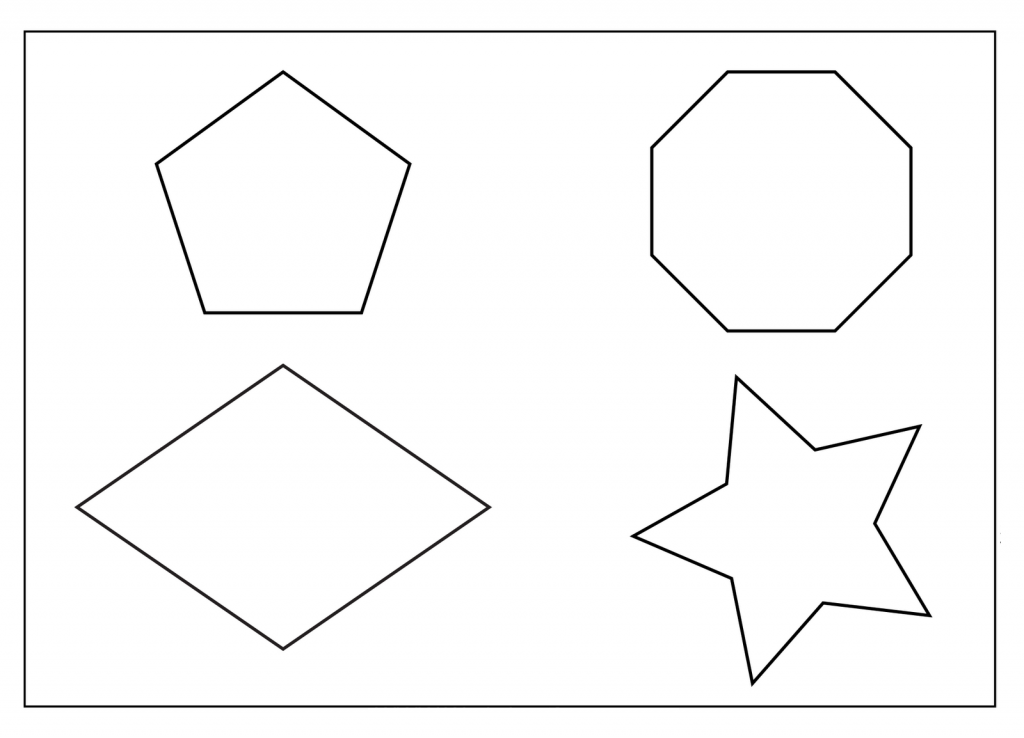 Geometric Coloring Pages For Kids