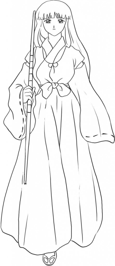 Inuyasha Coloring Page