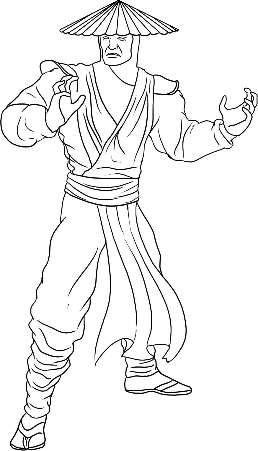 coloring pages x - free printable mortal kombat coloring pages for kids