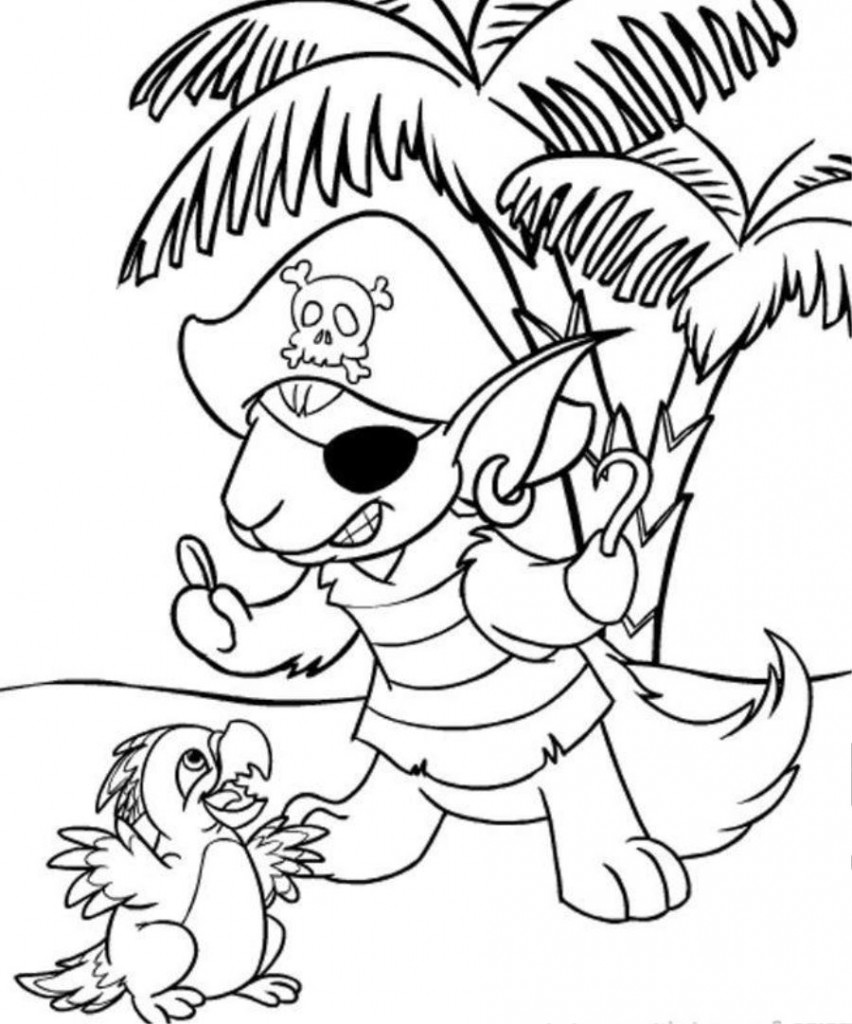 Neopet Coloring Page