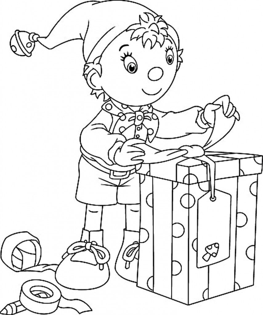 Nursery Rhymes Coloring Pages For Kids