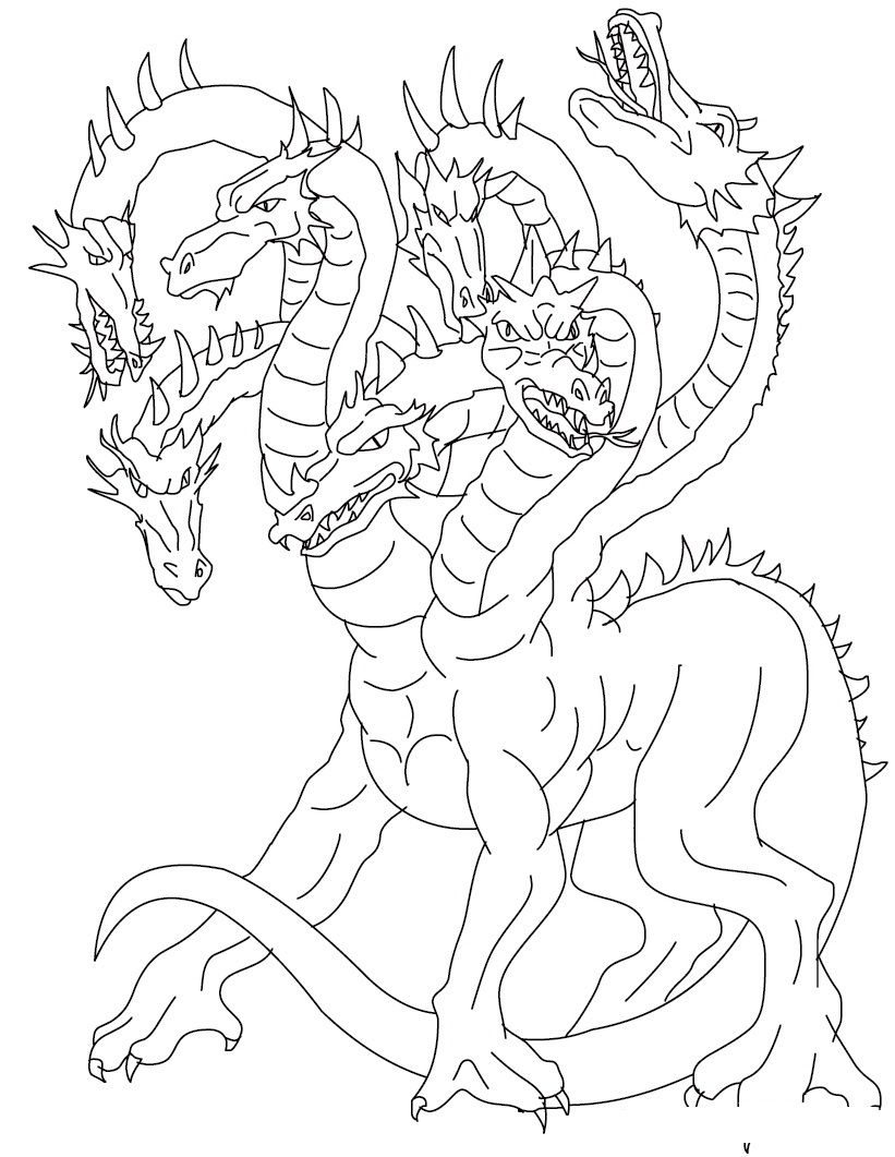 Pictures Of Chinese Dragon Coloring Pages