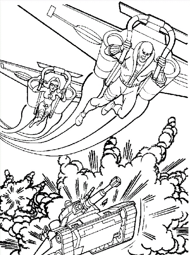 free printable gi joe coloring pages for kids