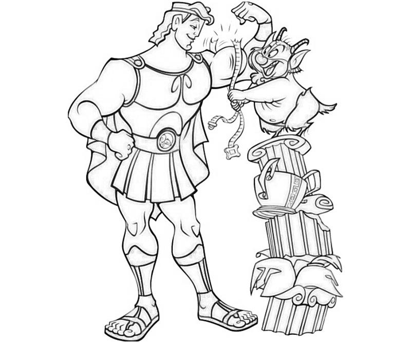 disney hercules coloring pages - photo#29