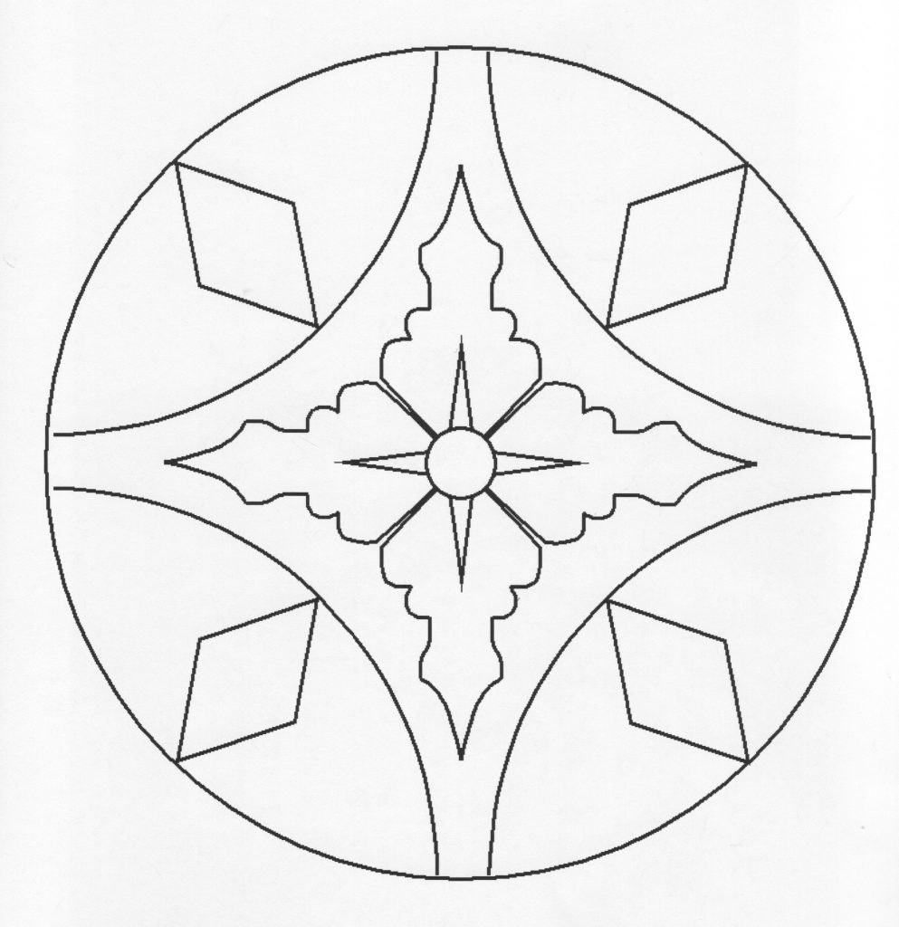 Different Patterns And Designs Coloring Pages