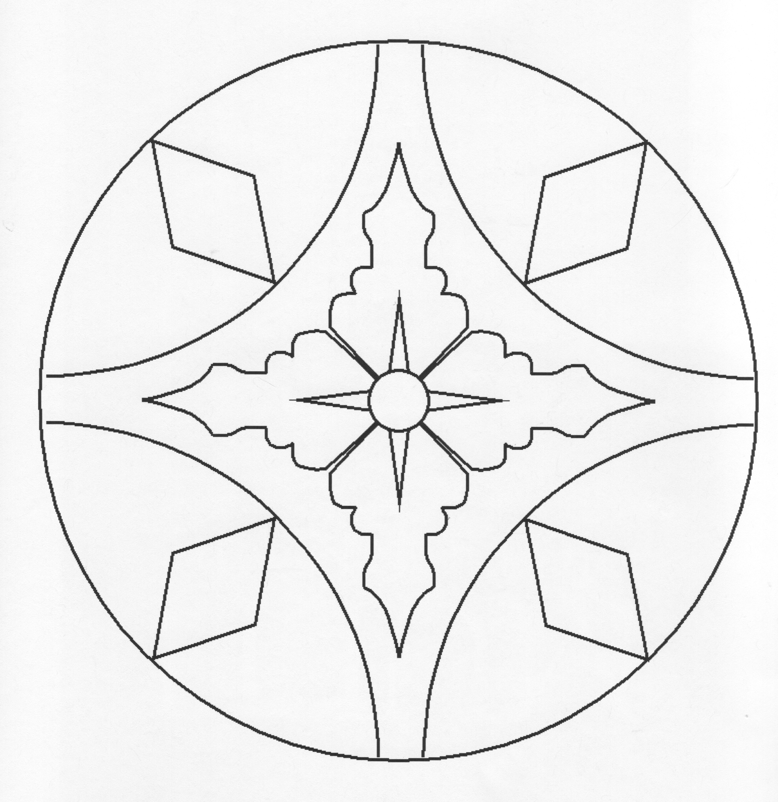 Rangoli Coloring Pages Pictures