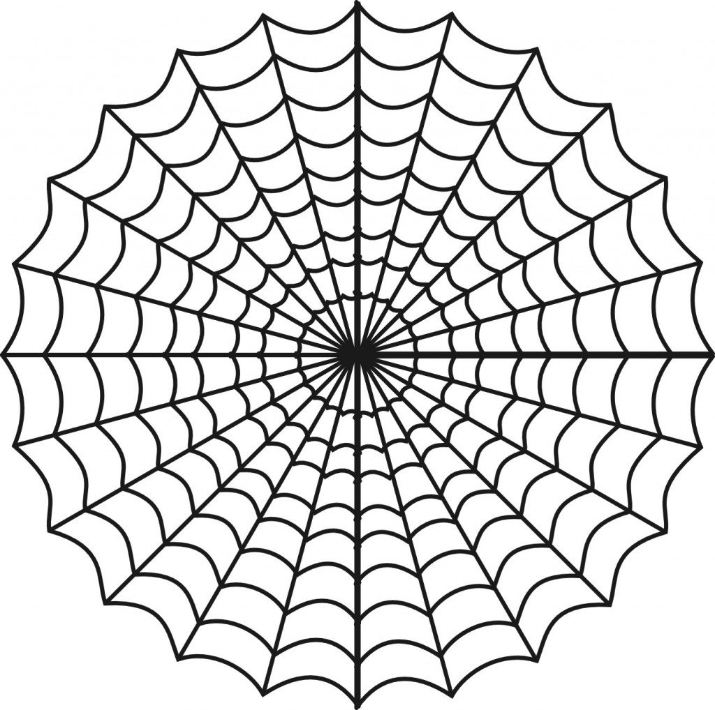Spider Web Coloring Pages To Print