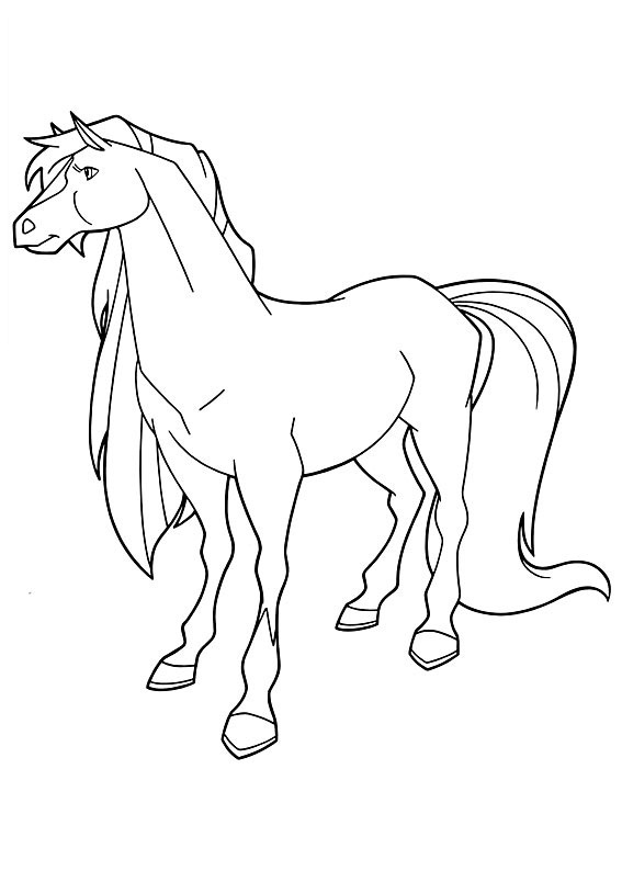horseland coloring pages sarah | Free Printable Horseland Coloring Pages For Kids
