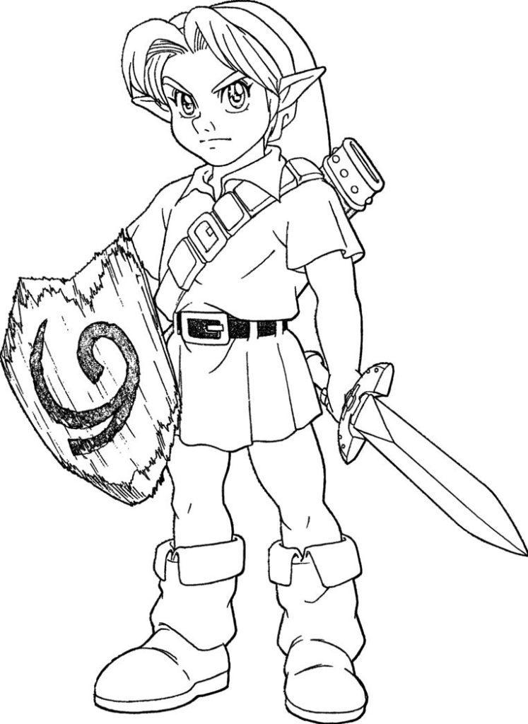 Link Legend Of Zelda Printables