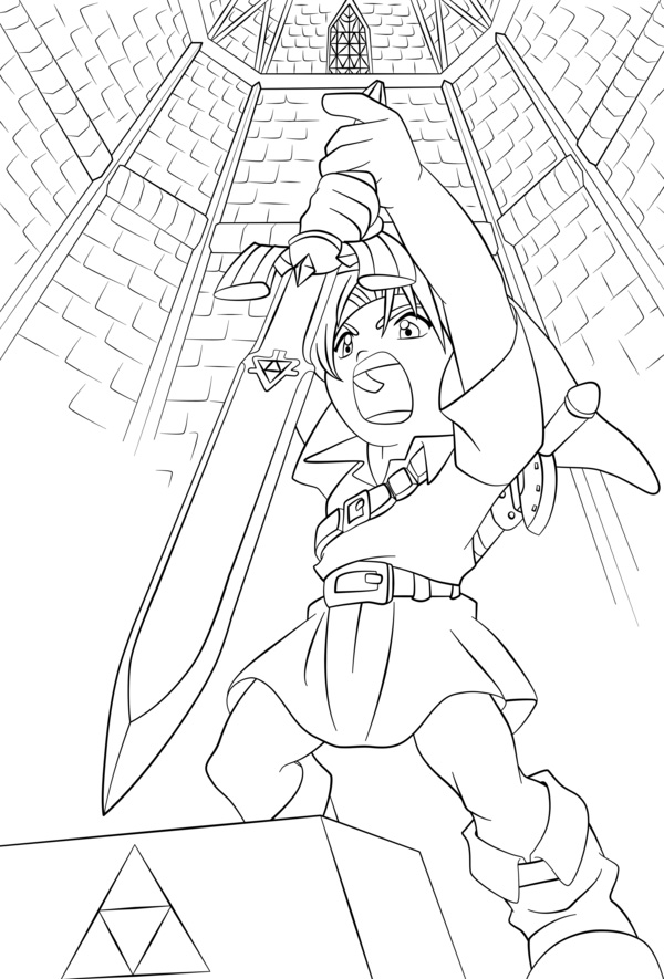 Link Printable Coloring Pages