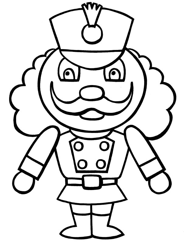 Free Printable Nutcracker Coloring