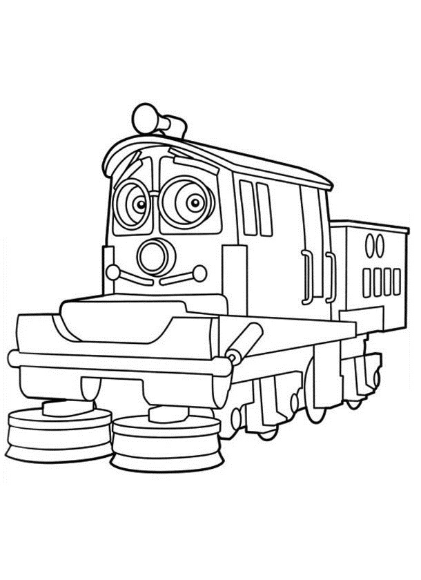 children coloring pages to print and color | Free Printable Chuggington Coloring Pages For Kids
