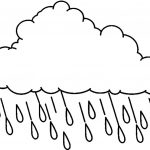 Raincloud Coloring Page