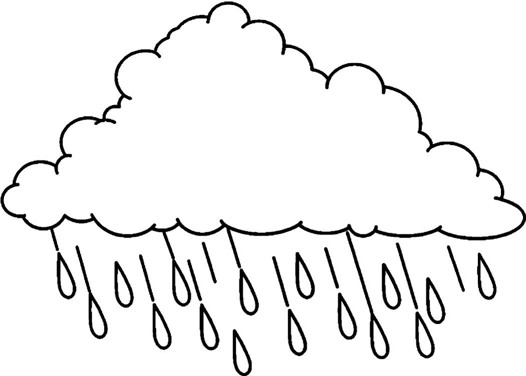 image regarding Printable Cloud titled Absolutely free Printable Cloud Coloring Web pages For Small children