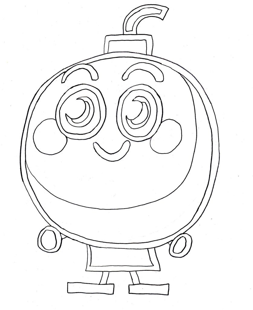 Coloring Pages of Moshi Monster