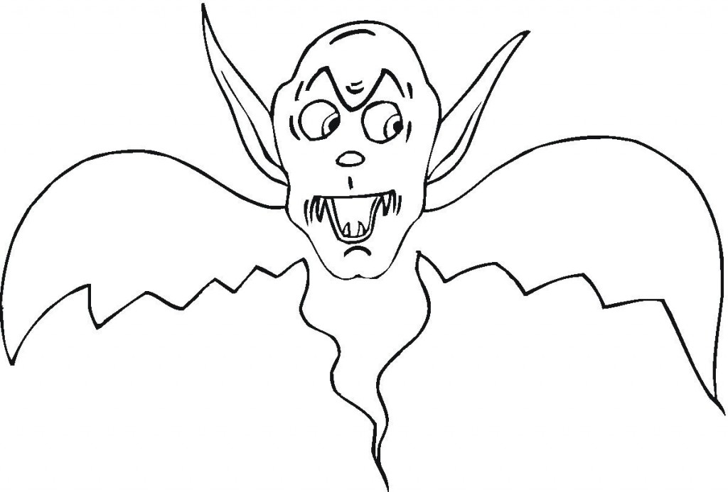 Coloring Pages of Vampire