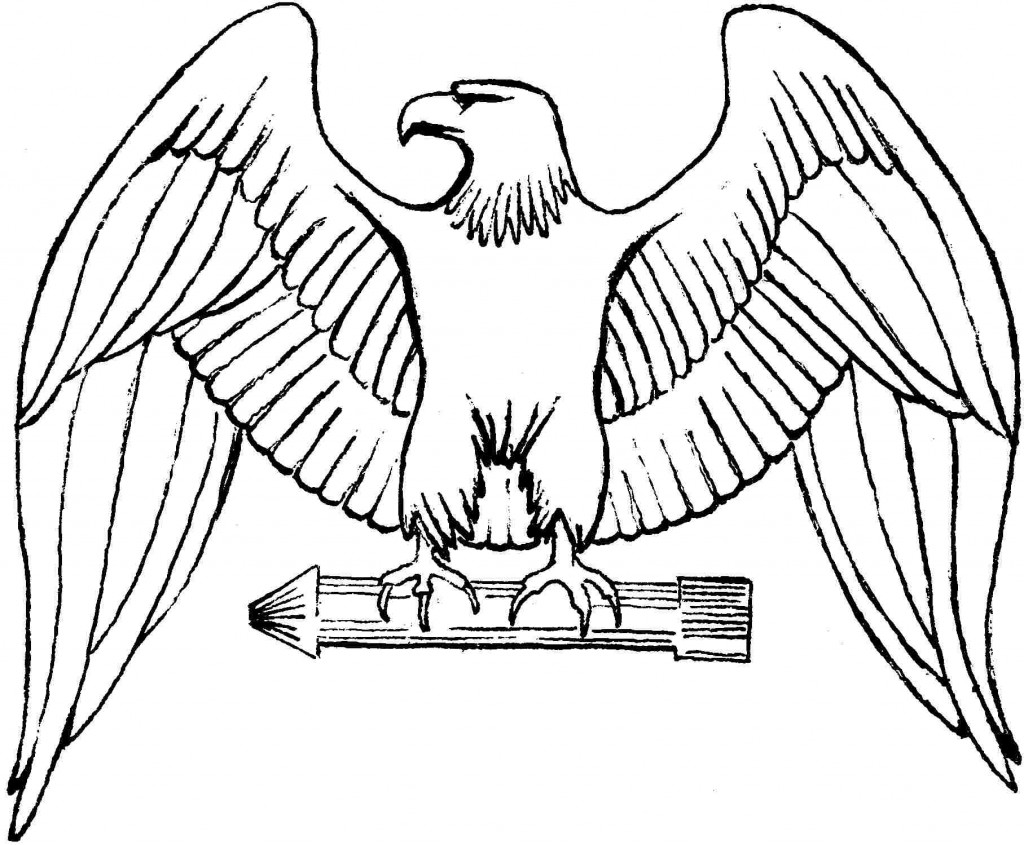 coloring pages of eagles - photo#15