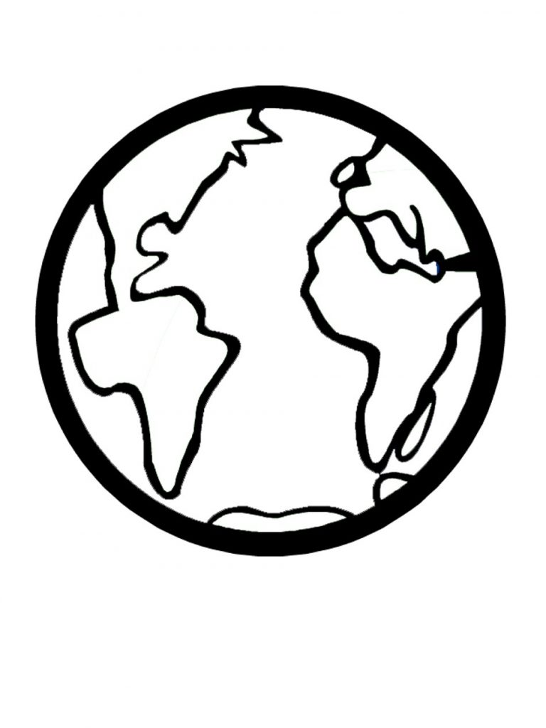 How to draw globe on a ball: free printable stencils, 18 ...