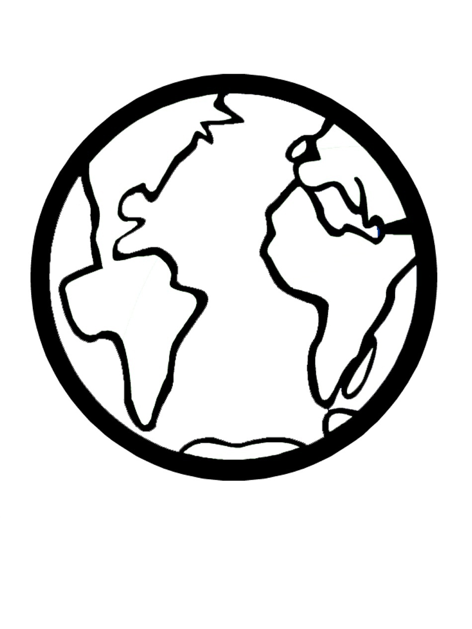 image relating to Printable Earth Pictures called Absolutely free Printable Globe Coloring Webpages For Little ones