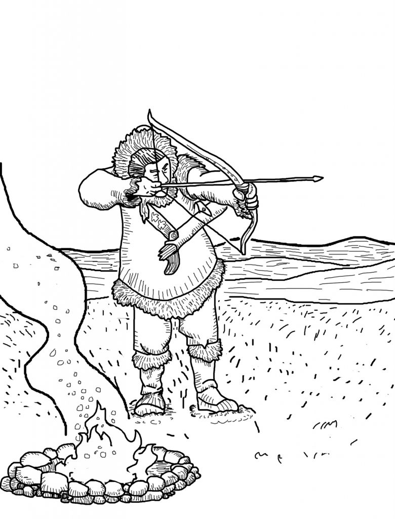 Hunting Coloring Pages