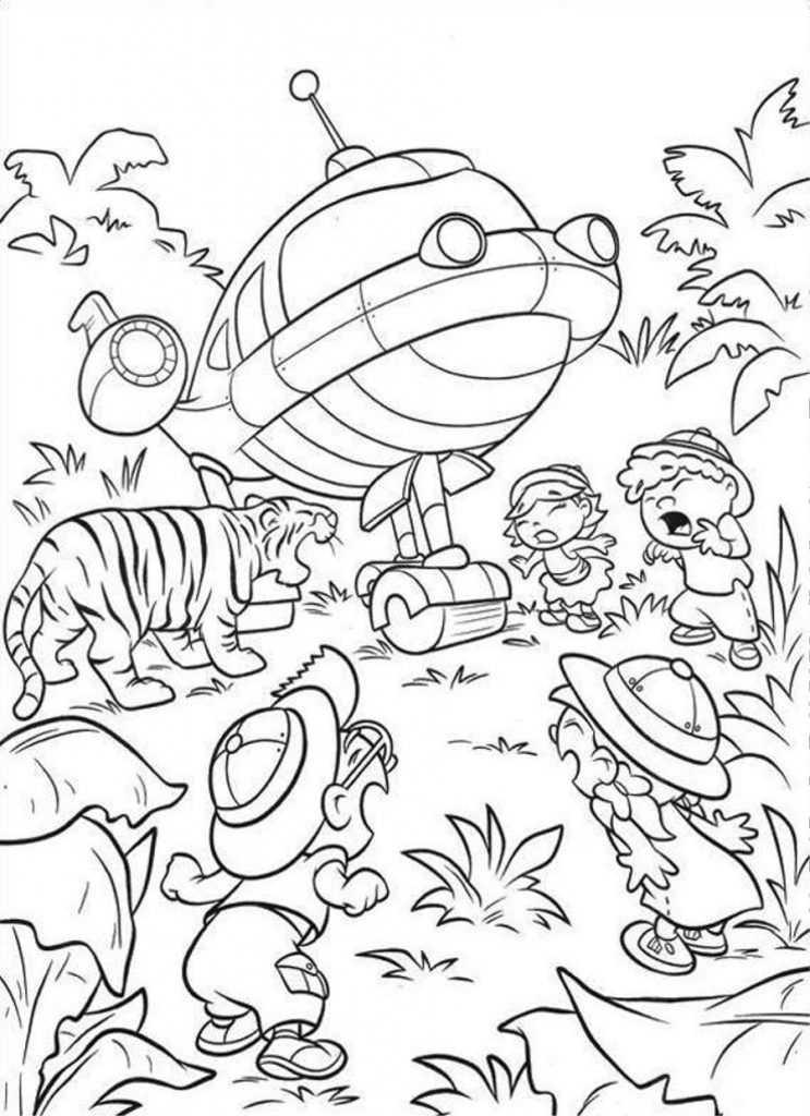 Little Einsteins Coloring Pages To Print