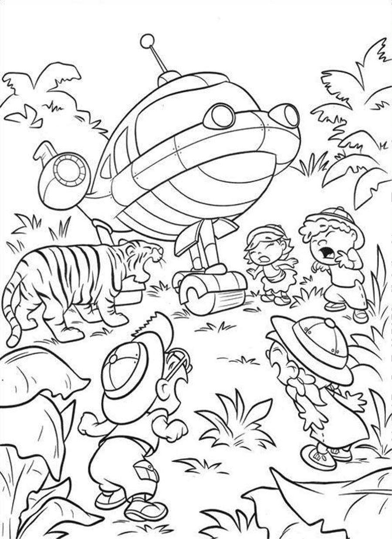 little einstien coloring pages - photo#8