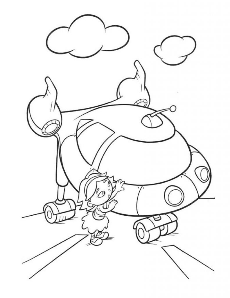 Free Printable Little Einsteins Coloring Pages. Get ready ... A Coloring Page