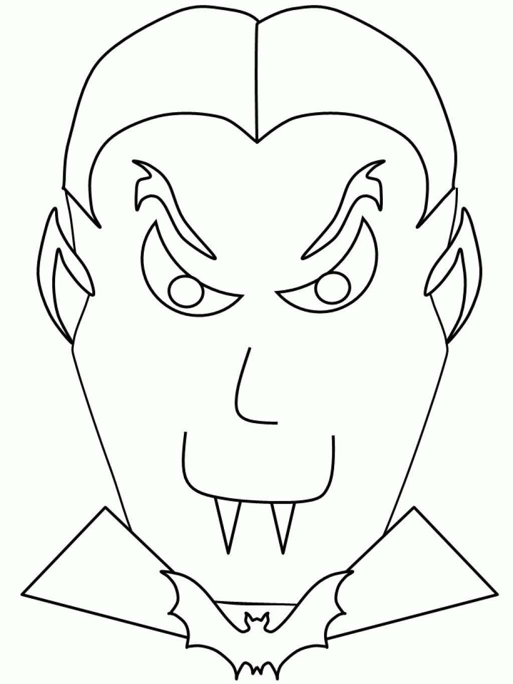77 Top Free Printable Vampire Coloring Pages For Adults  Images